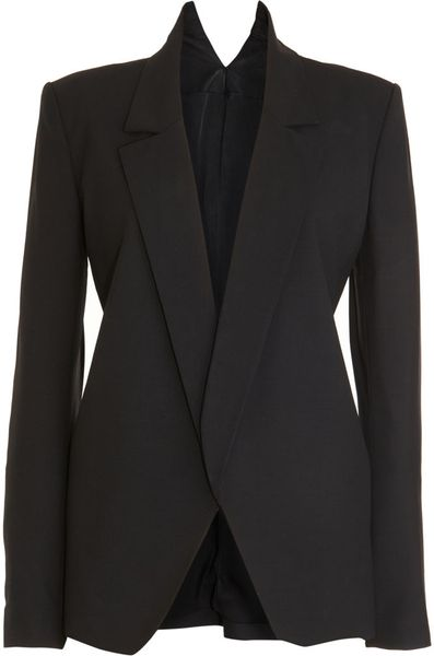 Theyskens' Theory Jago Blazer in Blue (black) - Lyst