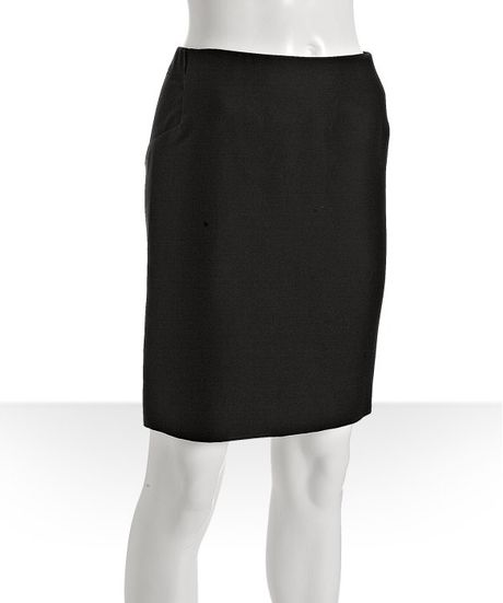 Black Cotton Skirt 68