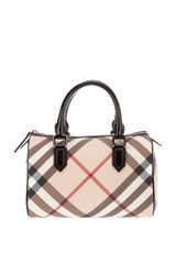 Burberry Nova Check Bowling Bag - Lyst