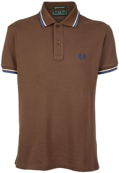 Fred Perry Classic Polo Shirt In Brown For Men Lyst