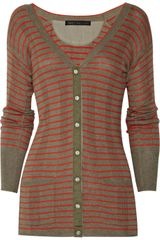 Marc By Marc Jacobs Aurelie Cotton and Cashmere-blend Cardigan - Lyst