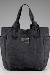 Marc Jacobs Pretty Little Tate Tote, Black - Lyst