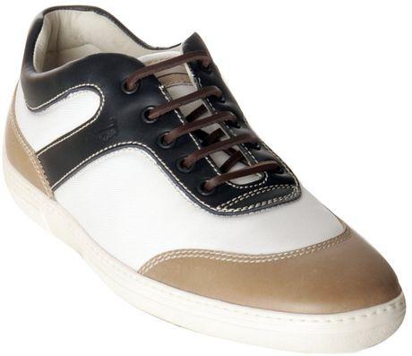 White Nylon Leather Detail 16