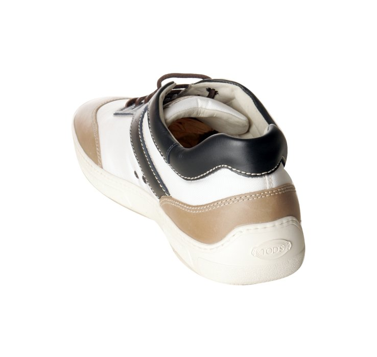 White Nylon Leather Detail 79