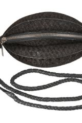 Helmut Lang Syn Shoulder Bag in Black - Lyst