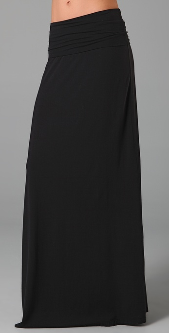 Splendid Maxi Tube Skirt / Dress in Black | Lyst