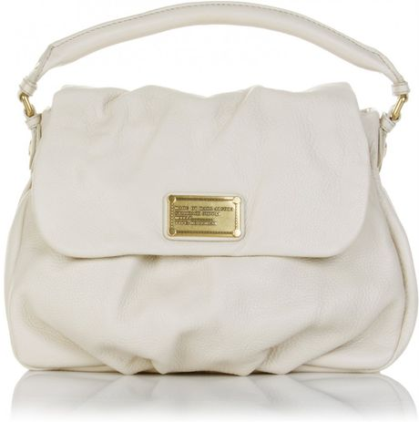 Marc By Marc Jacobs Little Ukita Leather Bag in Beige (cream) - Lyst