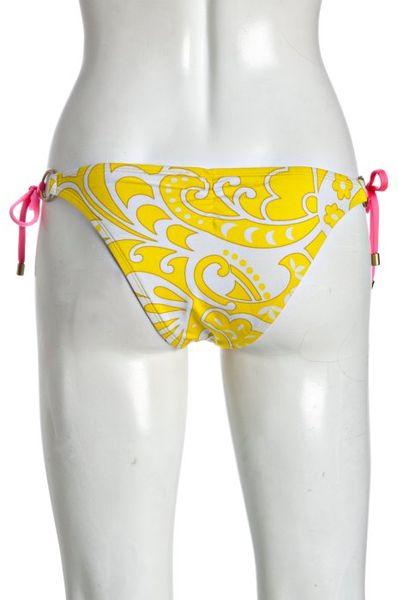 Vitamin A Lemon Sorbet Print Celebrity String Bikini