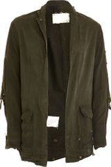 Greg Lauren Army Tent Jacket - Lyst