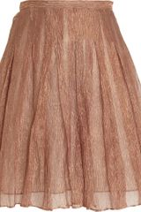 Rodarte x Opening Ceremony Reverse Pleated Skirt - Lyst