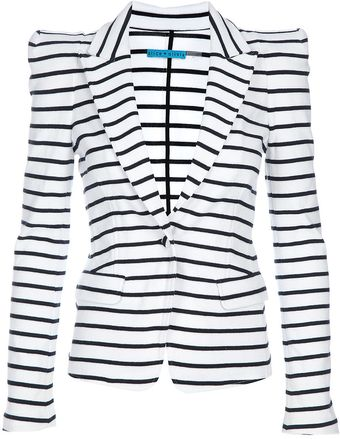 Alice + Olivia Striped Blazer - Lyst