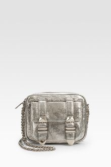 Rebecca Minkoff Boyfriend Chain Small Metallic Leather Mini Bag - Lyst