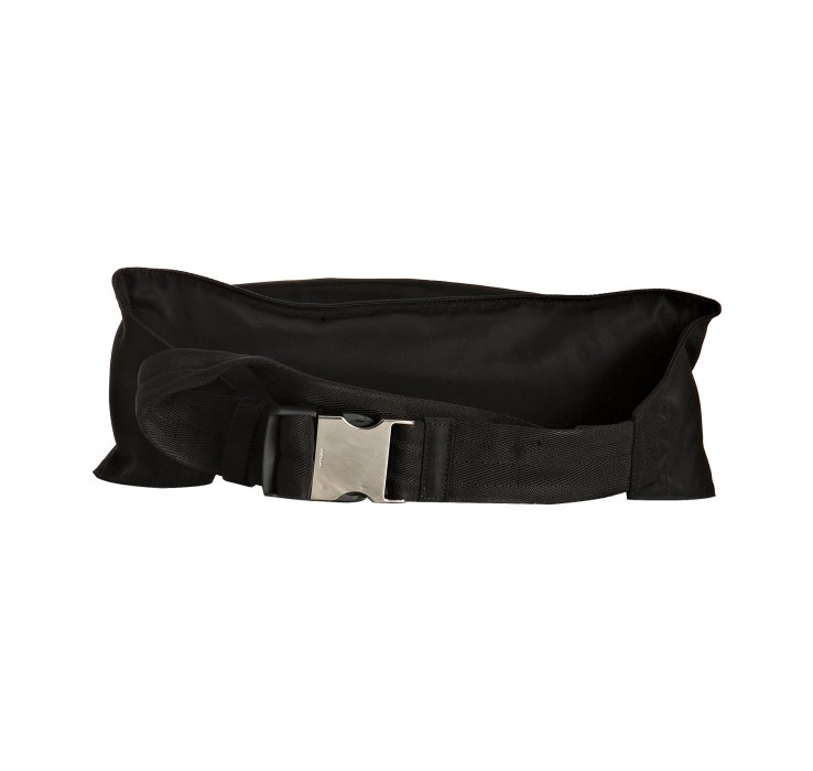 dd57fad490e0 ... low price lyst prada black nylon waist bag in black for men 288b9 85177