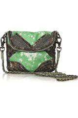 Antik Batik Florine Sequined Pouch Bag - Lyst