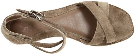 Belle By Sigerson Morrison Sandals in Gray (fango) - Lyst