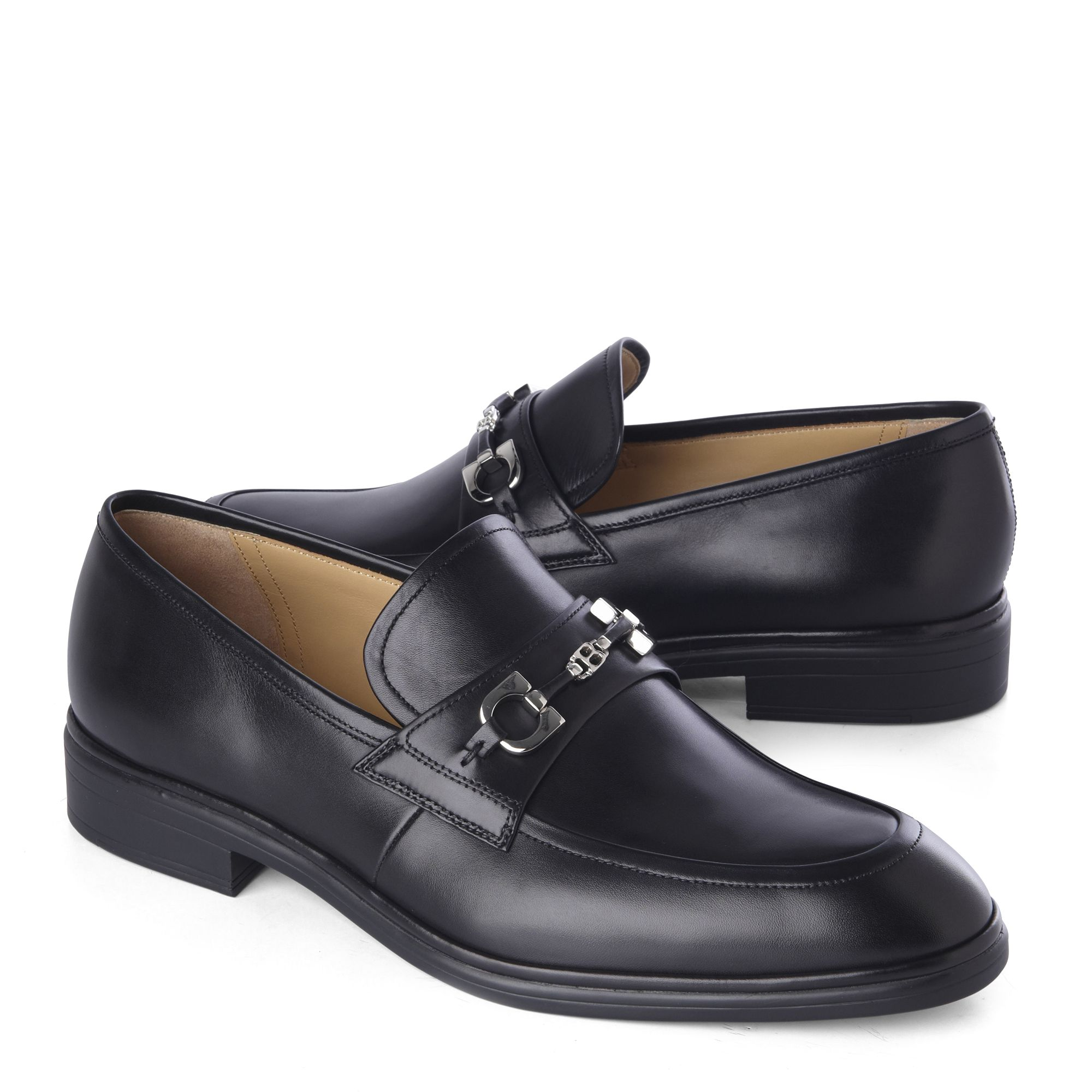 1f47e2183 Bally Leather Loafers in Black for Men - Lyst