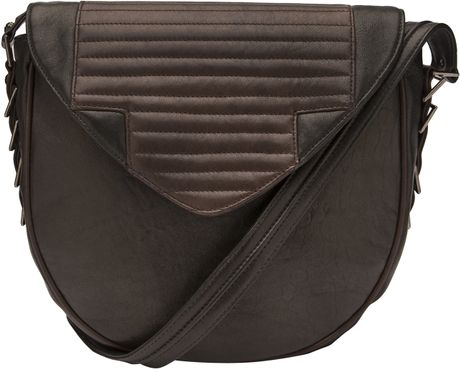 Reece Hudson Shoulder Bag in Black - Lyst