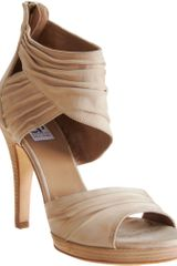 Co-op Barneys New York Rouched Platform Sandal - Lyst