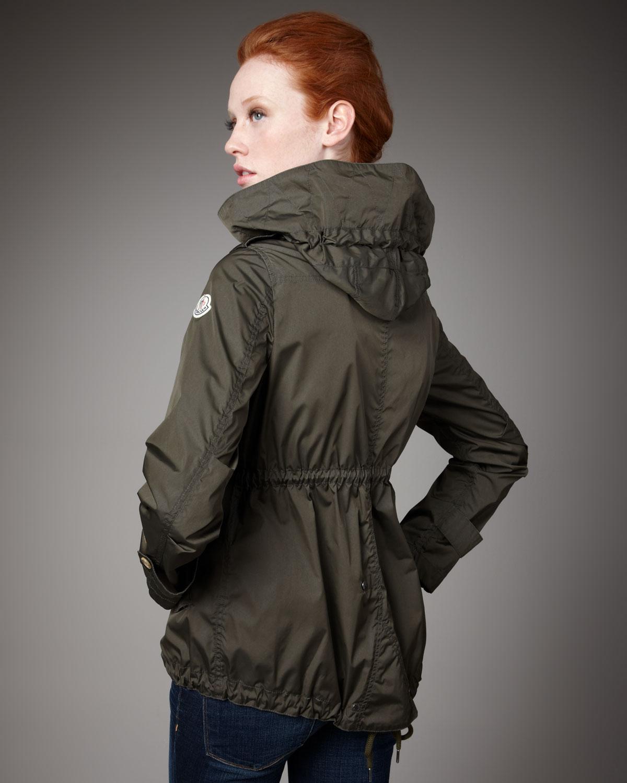 moncler womens rain jacket