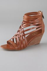 Ash Delicious Strappy Wedge Sandals - Lyst