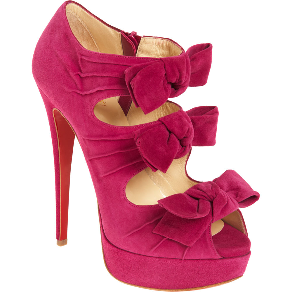 52ff05aa174a Christian Louboutin Madame Butterfly in Pink - Lyst