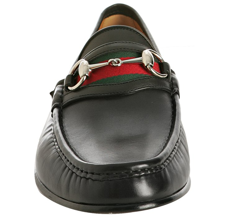 dWb4SNPXnaLeather Web Horsebit loafers LKGqh1oP