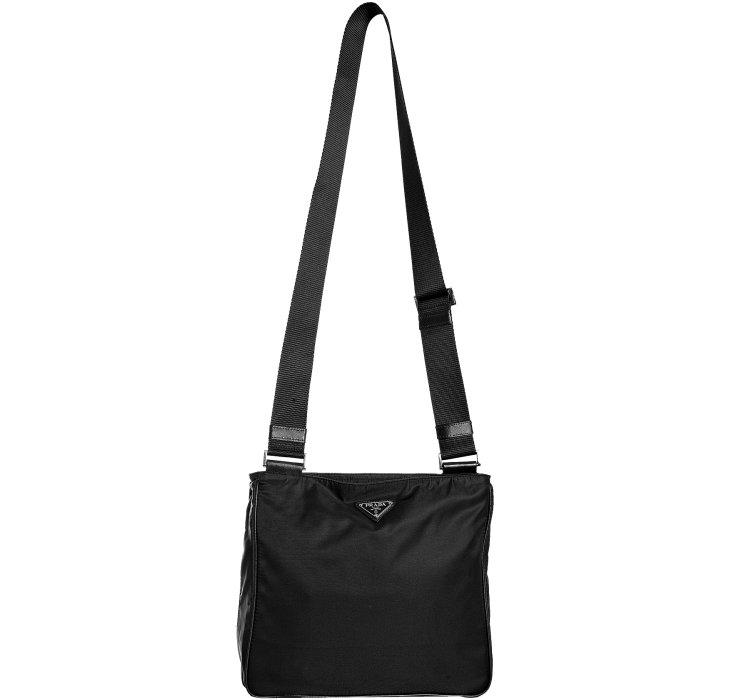 9e14a5852454 prada black polyester purse