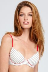 Calvin Klein Underwear Ck One Cotton Push-up Bra - Lyst