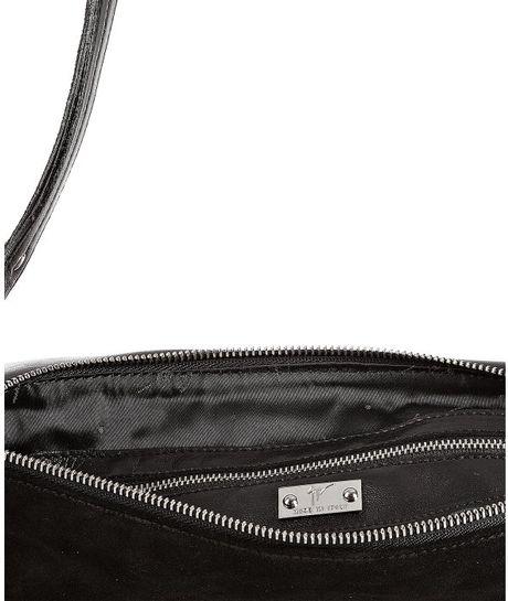 Giuseppe Zanotti Suede Shoulder Bag 99