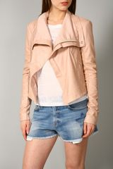 Veda Max Leather Classic Jacket - Lyst
