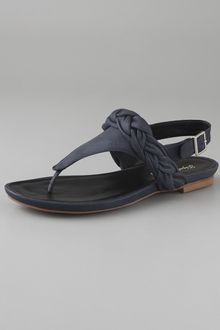 Elizabeth And James Blyss Thong Flat Sandals - Lyst