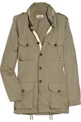 L'Agence Cotton-twill Cargo Jacket - Lyst