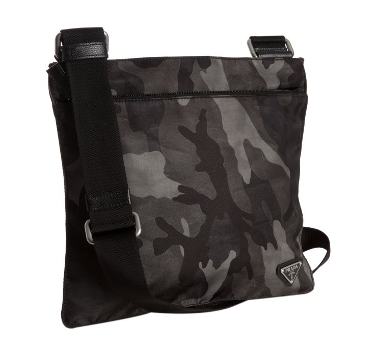 922e078a75 ... switzerland lyst prada smoke camouflage nylon messenger bag in gray for  men b67cb 8d4c7