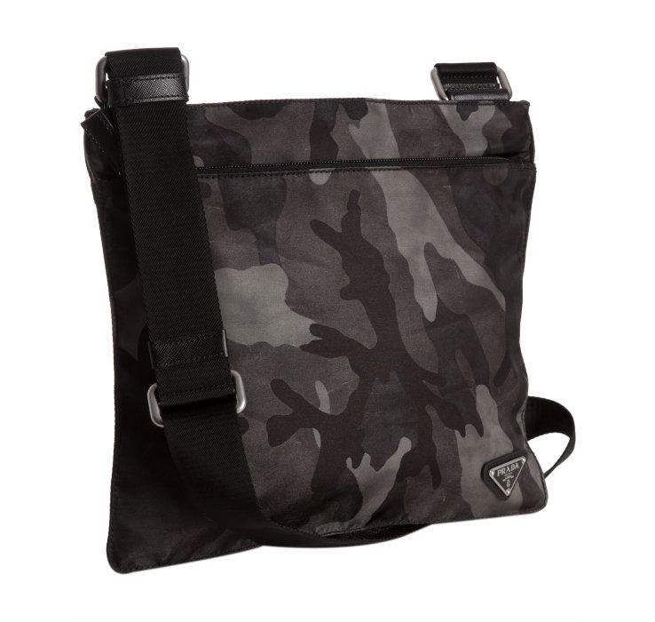 0f947700bcd8 ... switzerland lyst prada smoke camouflage nylon messenger bag in gray for  men b67cb 8d4c7