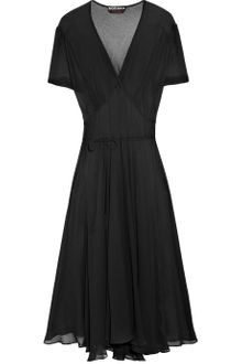 Rochas Silk-gauze Dress - Lyst