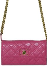 Marc Jacobs Quilted Cross Body Shoulder Bag - Lyst