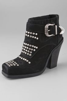 Jeffrey Campbell Maxim Studded Booties - Lyst