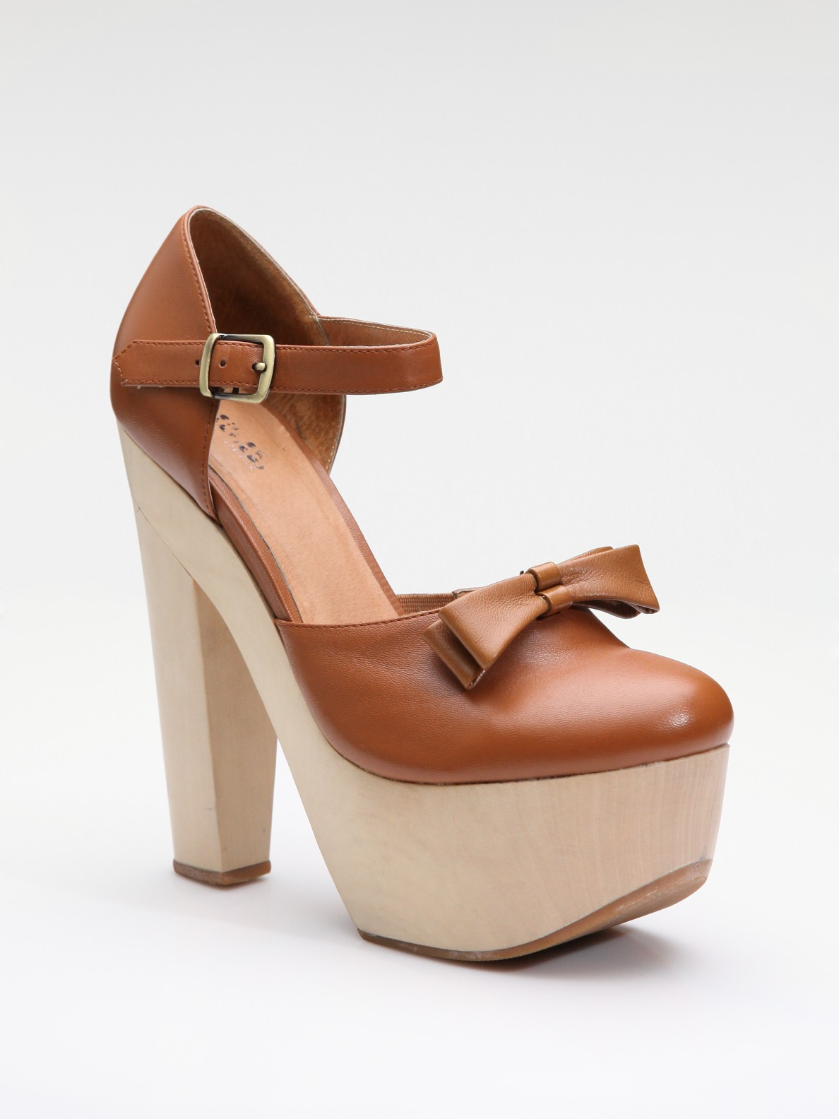 Lyst Opening Ceremony Platform Mary Jane In Brown