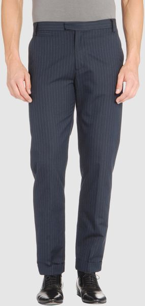 Raf By Raf Simons Dress Pants in Blue for Men - Lyst