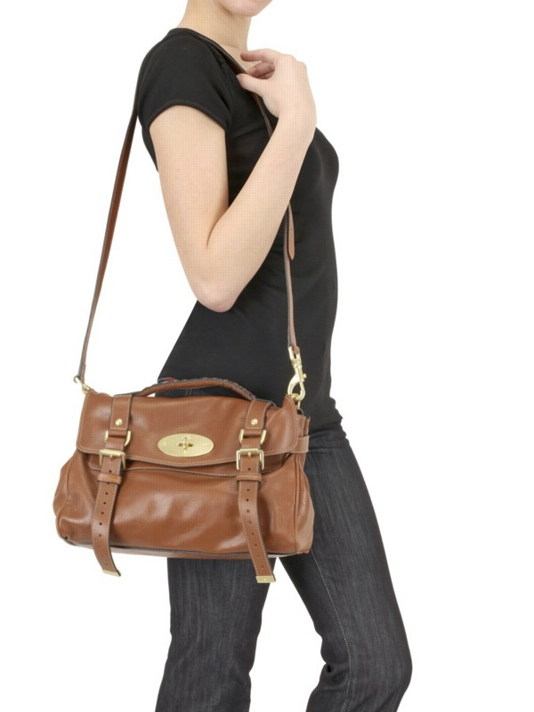 ... best price lyst mulberry soft bufalo alexa satchel in brown 9d76c b6285 a35eccce8aff7
