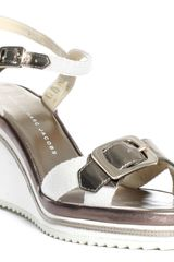 Marc By Marc Jacobs Wedge - Gold - Lyst