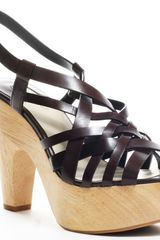Max Studio Oakey Heel - Dark Brown - Lyst