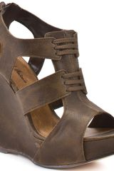 Michael Antonio Gower Wedge - Brown Pu - Lyst