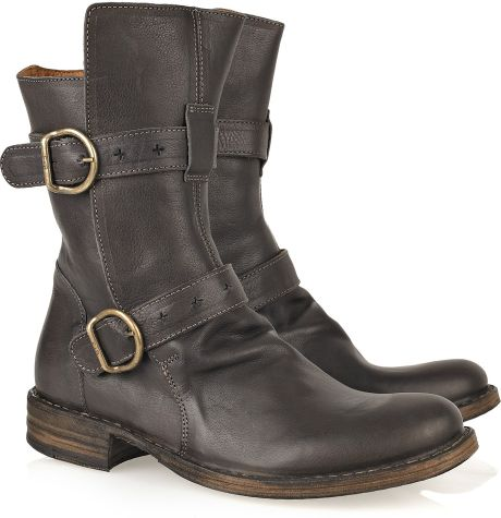 fiorentini baker eternity cusna leather boots in brown. Black Bedroom Furniture Sets. Home Design Ideas