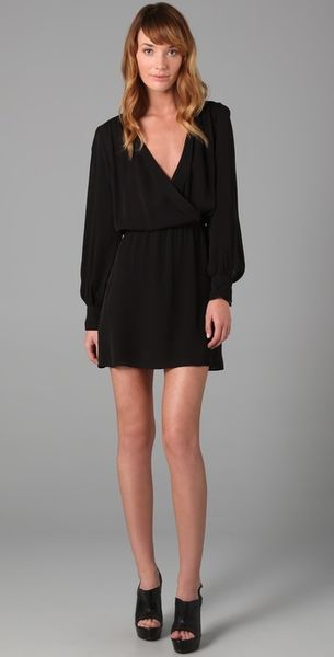 Parker Wrap Dress - Lyst
