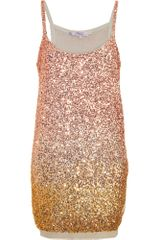 L'Wren Scott Sequin Mini Dress