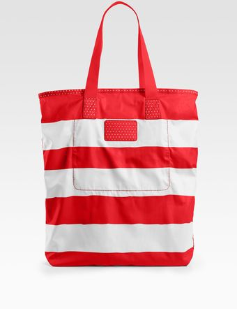 Marc By Marc Jacobs Packables Striped Shopper - Lyst