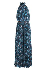 Erdem Washed Crepe Pleated Dress - Lyst