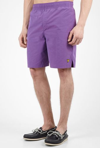 Lyle & Scott Purple Classic Swimshorts - Lyst