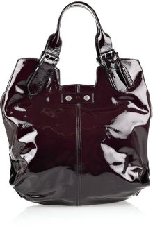 Alexander McQueen Faithful Patent-leather Tote - Lyst